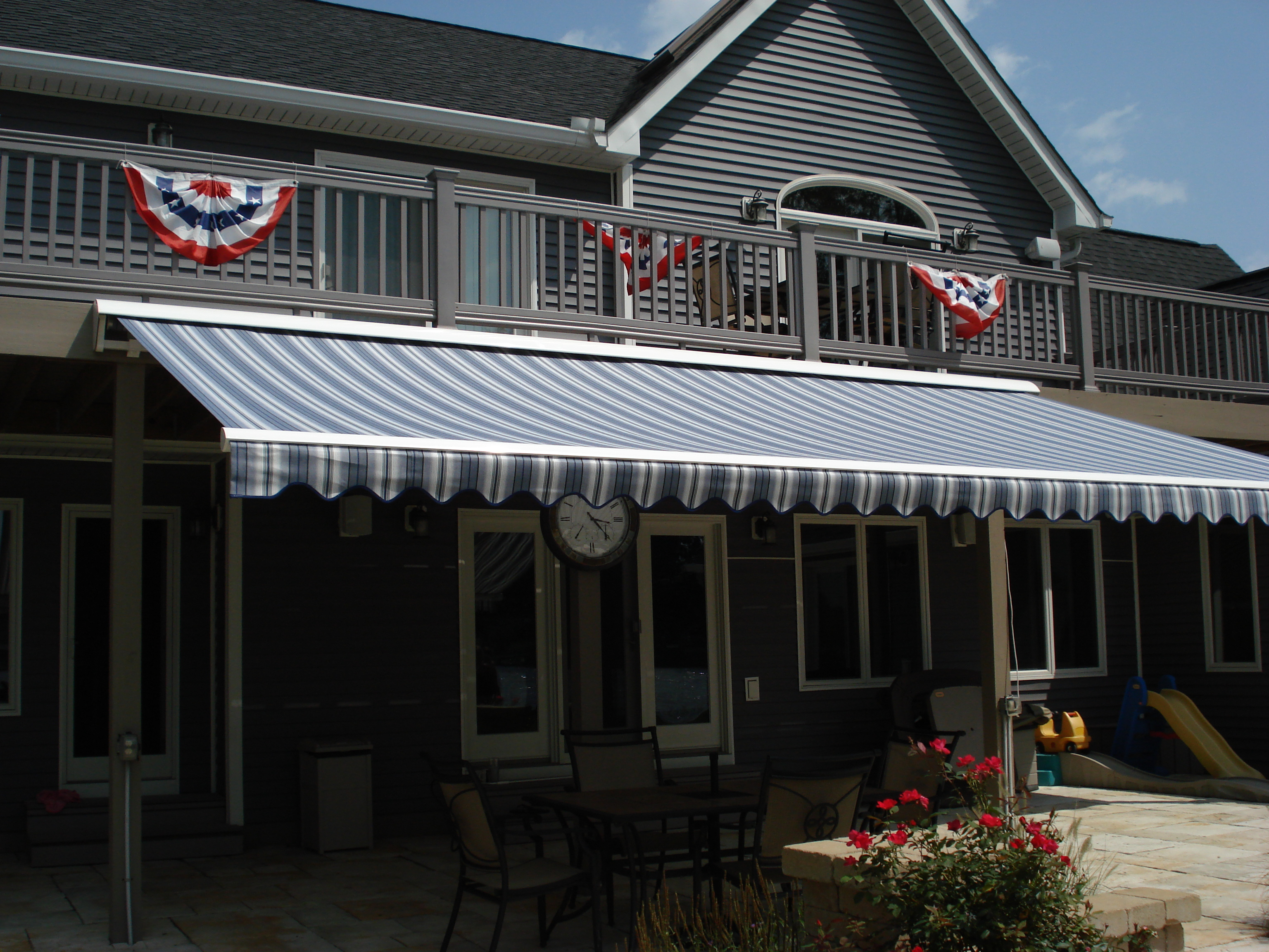 or btw ideas amazing uncovered awning i out that pin over deck a covered cheap not area metal it both the check and one think retractable building is perfect you to inspire has